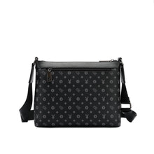 Load image into Gallery viewer, PLAYBOY MONOGRAM SLING BAG PLE 208-1 BLACK