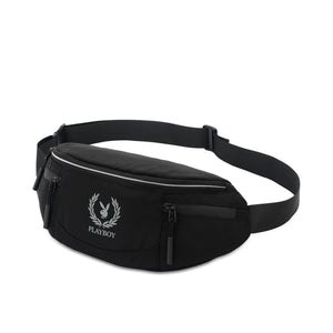 PLAYBOY WAIST BAG PLJ 703 BLACK