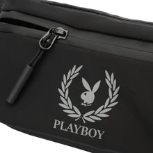 Load image into Gallery viewer, PLAYBOY WAIST BAG PLJ 705 BLACK
