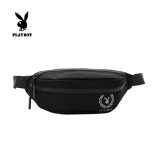 Load image into Gallery viewer, PLAYBOY WAIST BAG PLJ 706 BLACK