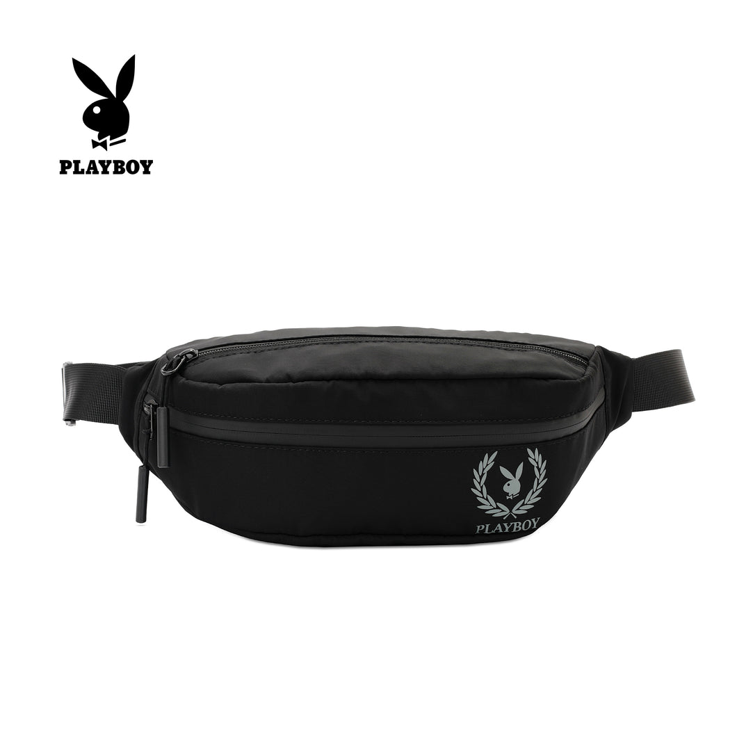 PLAYBOY WAIST BAG PLJ 706 BLACK