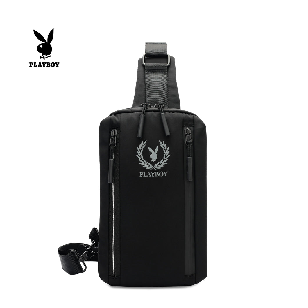 PLAYBOY CHEST BAG PLJ 707 BLACK