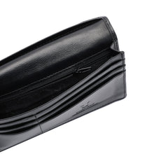 Load image into Gallery viewer, PLAYBOY GENUINE LEATHER RFID LONG WALLET PW 230-1 BLACK