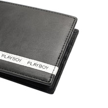Load image into Gallery viewer, PLAYBOY GENUINE LEATHER WALLET PW 247-3 BLACK