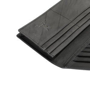 PLAYBOY RFID LONG WALLET PW 255-1 BLACK