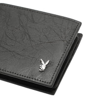 Load image into Gallery viewer, PLAYBOY RFID BI-FOLD WALLET PW 255-2 BLACK