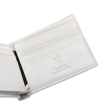 Load image into Gallery viewer, PLAYBOY MONOGRAM RFID BI-FOLD WALLET PW 257-2 WHITE