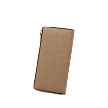 Load image into Gallery viewer, PLAYBOY GENUINE LEATHER RFID ZIPPER LONG WALLET PW 259-3 KHAKI