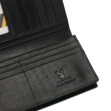 Load image into Gallery viewer, PLAYBOY RFID BLOCKING LONG WALLET PW 263-1 BLACK