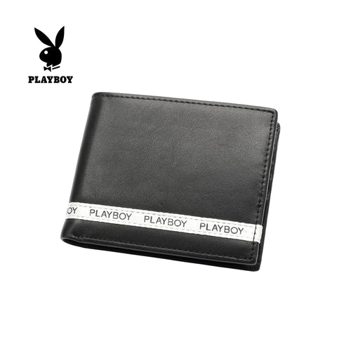PLAYBOY GENUINE LEATHER WALLET PW 247-3 BLACK