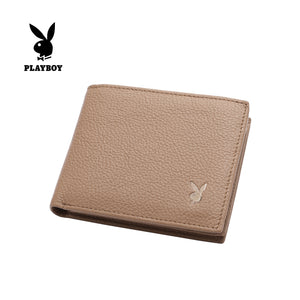 PLAYBOY GENUINE LEATHER RFID BI-FOLD WALLET PW 236-2 BROWN