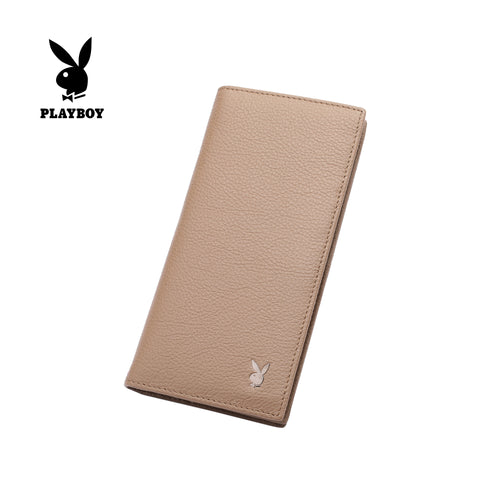 PLAYBOY GENUINE LEATHER RFID LONG WALLET PW 236-1 BROWN