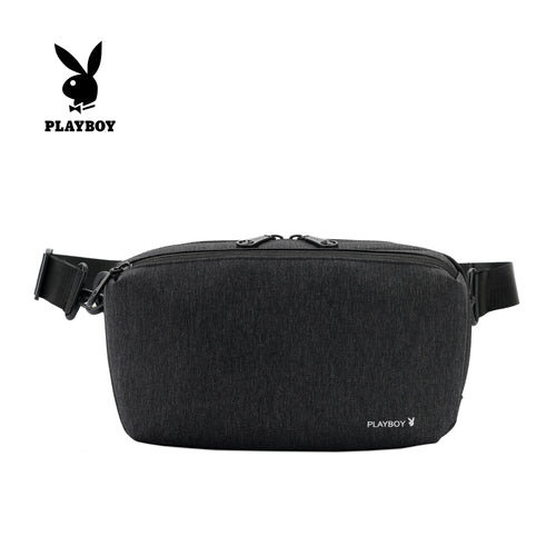 PLAYBOY WATER RESISTANCE SLING BAG/CROSSBODY BAG PKY 8527-1 BLACK