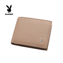 Load image into Gallery viewer, PLAYBOY GENUINE LEATHER RFID BI-FOLD WALLET PW 236-3 BROWN