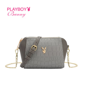 PLAYBOY BUNNY LADIES CHAIN SLING BAG CLARA