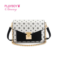 Load image into Gallery viewer, PLAYBOY BUNNY LADIES MONOGRAM SLING BAG EDITHE