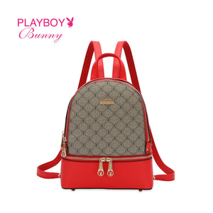 PLAYBOY BUNNY LADIES MONOGRAM BACKPACK CAMILA