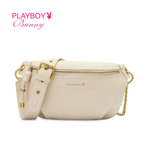 PLAYBOY BUNNY LADIES CHAIN SLING BAG EMERY