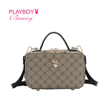 Load image into Gallery viewer, PLAYBOY BUNNY LADIES MONOGRAM SLING BAG CLAIRE