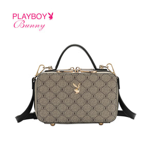 PLAYBOY BUNNY LADIES MONOGRAM SLING BAG CLAIRE