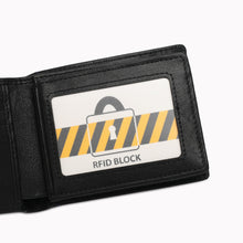 Load image into Gallery viewer, SWISS POLO GENUINE LEATHER RFID SHORT WALLET SW 134-2 BLACK