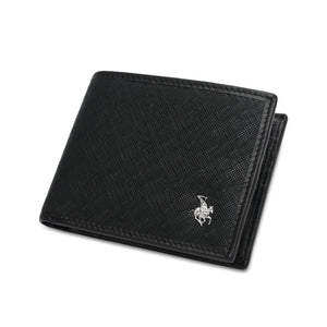 SWISS POLO RFID SHORT WALLET SW 138-3 BLACK