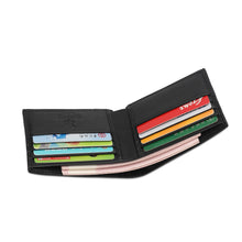 Load image into Gallery viewer, SWISS POLO RFID SHORT WALLET SW 138-3 BLACK
