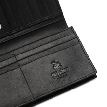 Load image into Gallery viewer, SWISS POLO RFID BLOCKING LONG WALLET SW 158-1 BLACK