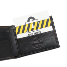 Load image into Gallery viewer, SWISS POLO RFID SHORT WALLET SW 166-2 BLACK