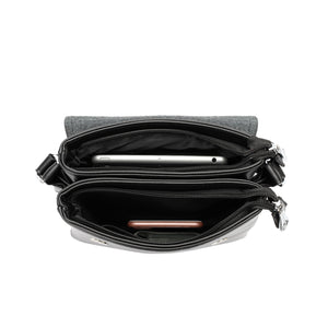 SWISS POLO SLING BAG SWQ 7123-2 BLACK