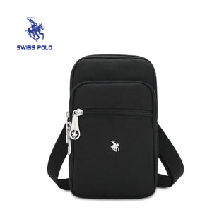SWISS POLO POUCH / SLING BAG SXN 053 BLACK