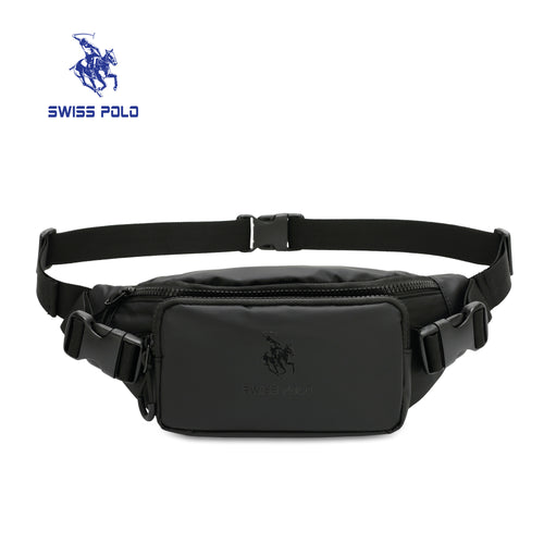 SWISS POLO WAIST BAG SXN 1522 BLACK