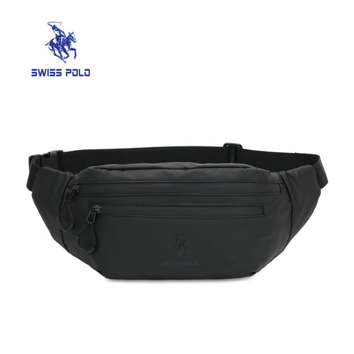 SWISS POLO WAIST BAG SXN 1551 BLACK