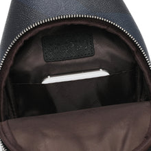 Load image into Gallery viewer, SWISS POLO MONOGRAM CHEST BAG SXP 332 BLACK