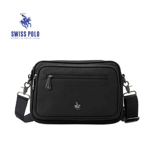 SWISS POLO SLING BAG SWZ 86011 BLACK