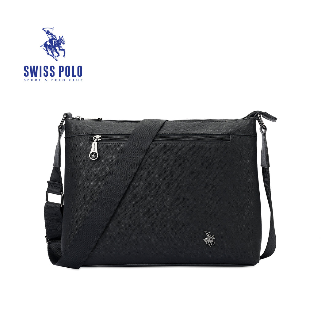 SWISS POLO SLING BAG SWZ 12531 BLACK
