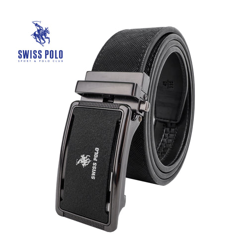 SWISS POLO 40MM AUTOMATIC BELT WAB 452-1 BALCK
