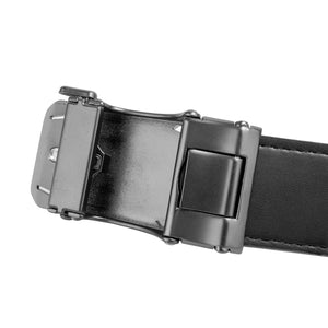 SWISS POLO 40MM AUTOMATIC BELT WAB 452-2 BALCK