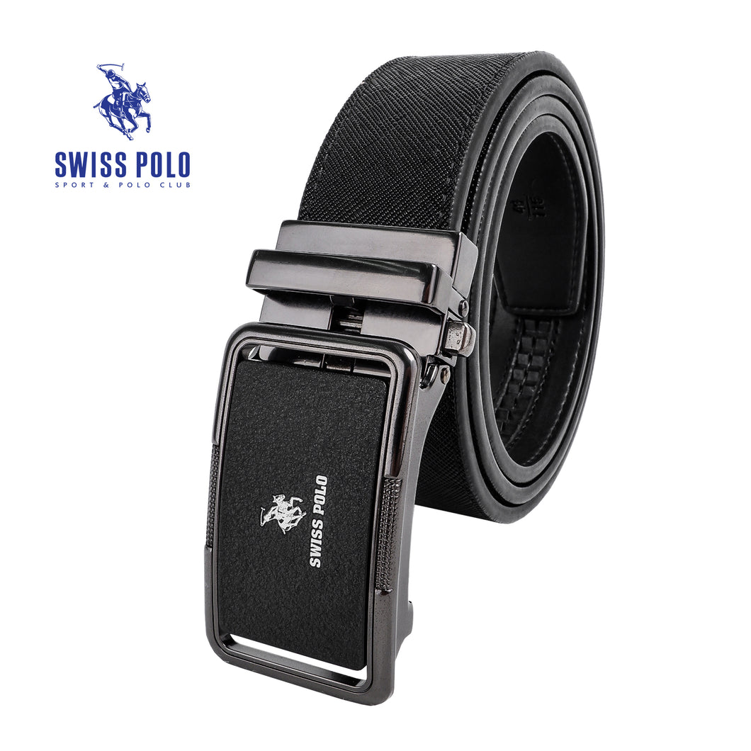 SWISS POLO 40MM AUTOMATIC BELT WAB 452-3 BALCK