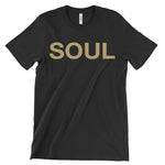 Black & Gold Men's T-Shirt