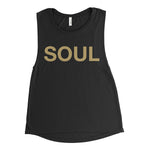 Black & Gold Women's Tank