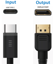 Load image into Gallery viewer, USB-C to DisplayPort 2M Cable