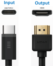 Load image into Gallery viewer, USB-C to HDMI 2M Cable