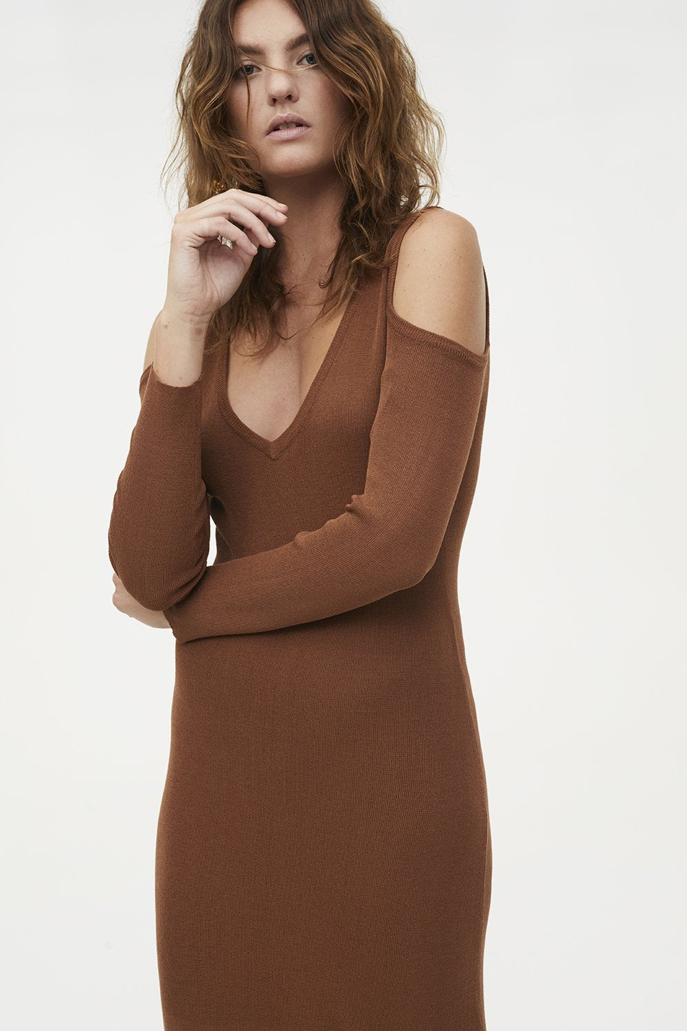 Manning Cartell Prime Time Dress - Chestnut