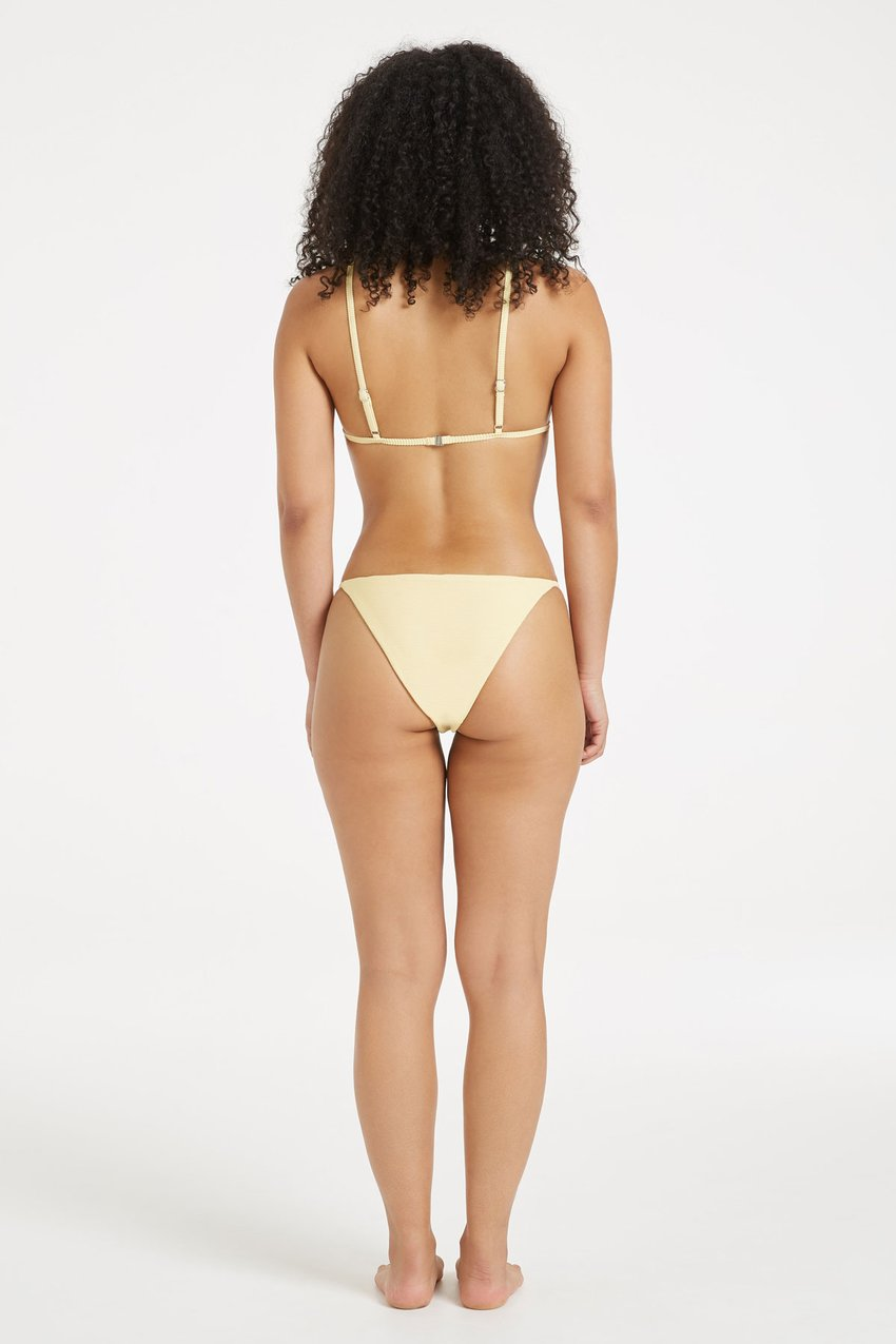 Zulu & Zephyr - Signature Bikini, Lemon - Worn For Good