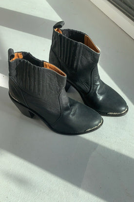 Dannika Zen Black Leather Boots