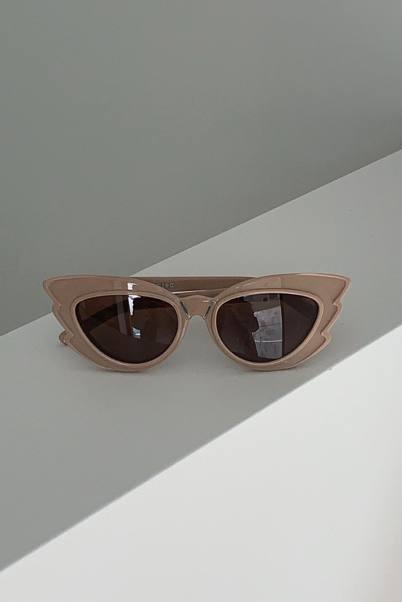 Pared x Emma Mulholland Stargazer Sunglasses Fawn