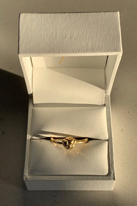 Holly Ryan - Meteor Ring, Gold - Worn For Good