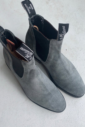 RM Williams Lady Yearling Boots - Grey Suede