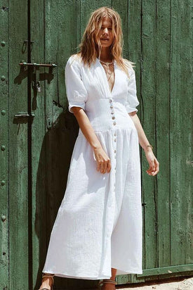 Maurie & Eve Estelle White Dress